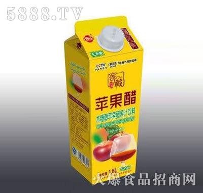 修花苹果醋果汁饮料1.5L