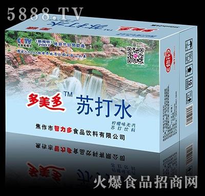 修花多美多(云台山)苏打饮料350mlx24瓶
