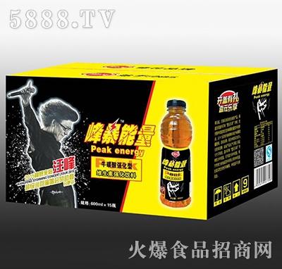 修花峰暴能量牛磺酸维生素强化饮料600mlx15瓶
