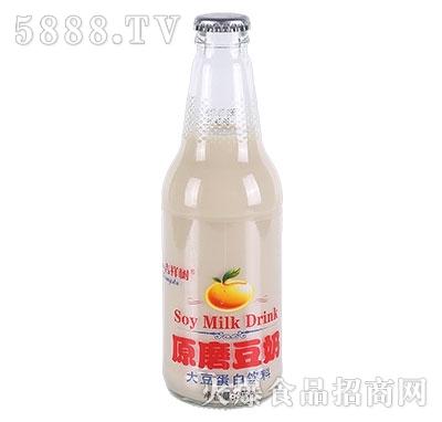 吉祥树原磨豆奶308ml产品图
