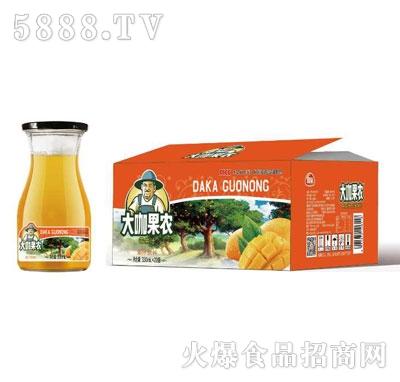 团友大咖果农芒果汁饮料330mlX20