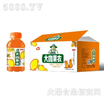 团友大咖果农芒果汁饮料450mlX15