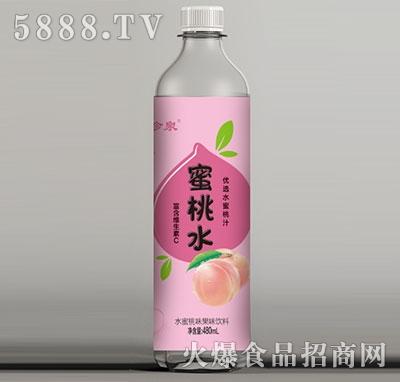 水珍泉蜜桃水480ml