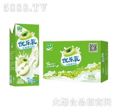 优乐乳乳酸菌饮料原味产品图