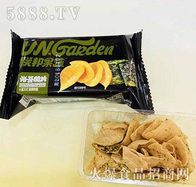 乐品联邦果蔬海苔脆片
