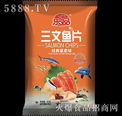 乐品三文鱼片经典酱香味43g
