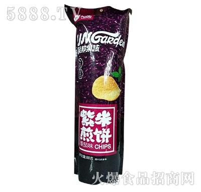 乐品联邦果蔬紫薯煎饼番茄味