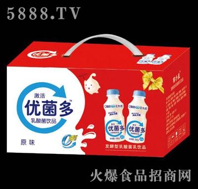 优菌多乳酸菌饮品原味(箱)