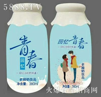 回忆青春老酸奶饮品380ml