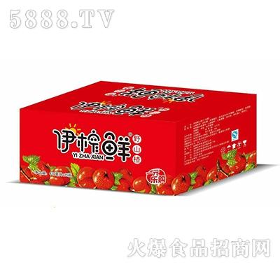 伊榨鲜野山楂汁410mlx15瓶