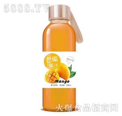 芒果果汁饮料320ml玻璃瓶