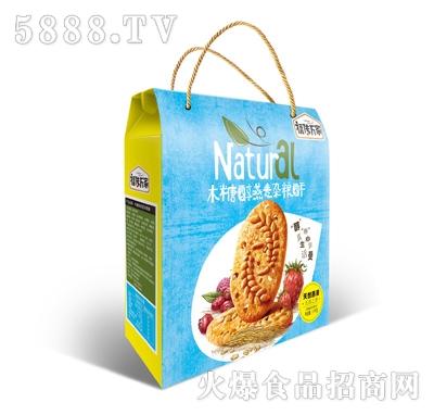 福传万家木糖醇燕麦杂粮酥1.1kg礼盒装