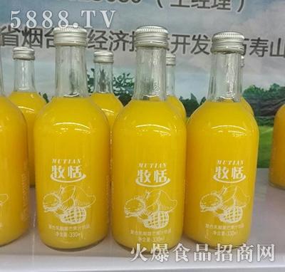 牧恬复合乳酸菌芒果汁饮品330ml
