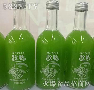 牧恬复合乳酸菌猕猴桃汁饮品330ml