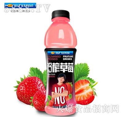 三九饮品冷榨草莓汁饮料550ml