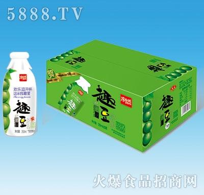 淳先奶趣豆原味豆奶瓶装350ml