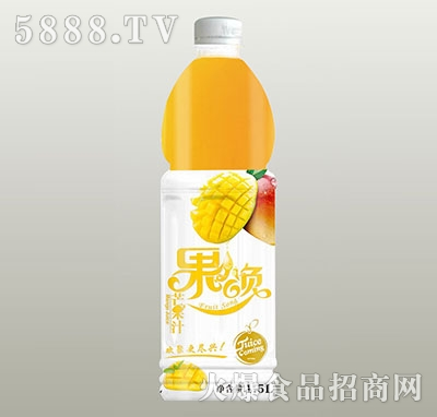 果颂芒果汁1.5L