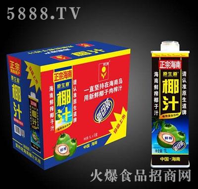原生道正宗海南椰汁1Lx8盒