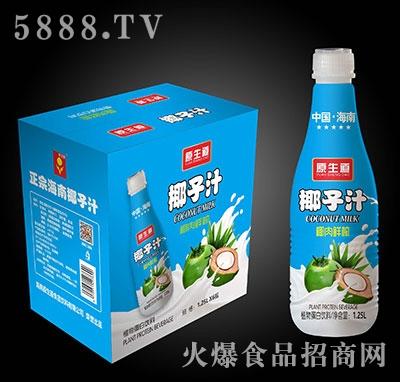 原生道椰子汁1.25Lx6瓶