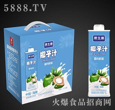原生道椰子汁1Lx6盒