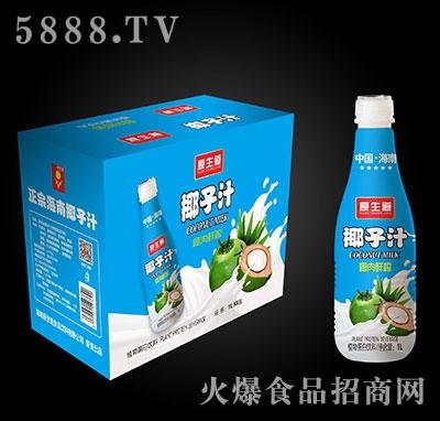 原生道椰子汁1Lx8瓶