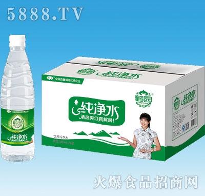 鹤园饮用纯净水560mlx24瓶
