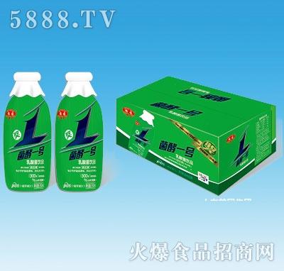 鹤园菌酵一号乳酸菌饮品+青苹果汁