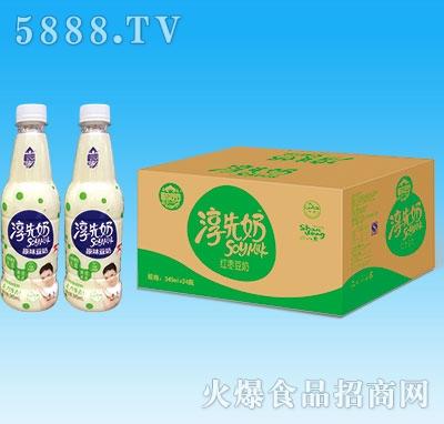 淳先奶豆奶PET瓶装