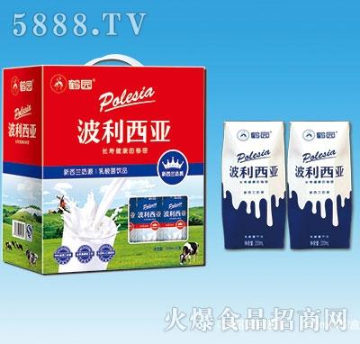 鹤园波利西亚乳酸菌饮品200gx12盒