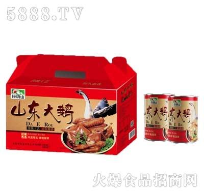 玲珑山山东大鹅肉罐头840g产品图