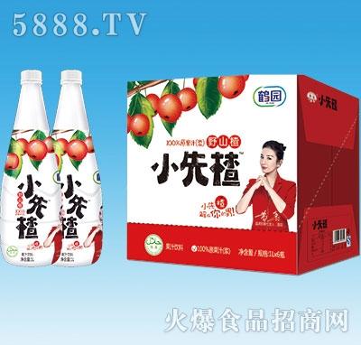鹤园小先楂山楂汁1Lx6瓶