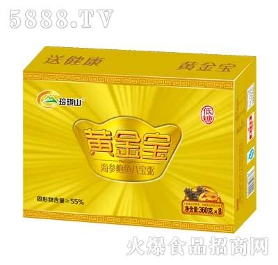 玲珑山黄金宝海参鲍鱼八宝粥360gx8罐产品图