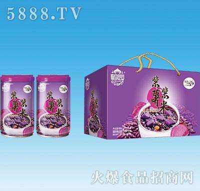 鹤园紫薯紫米粥