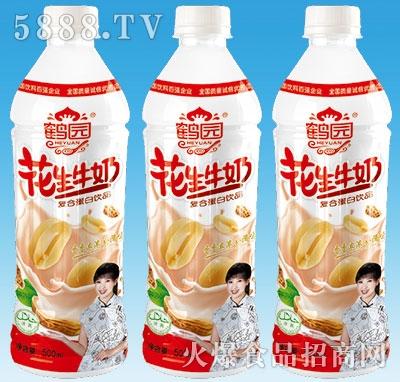 鹤园花生牛奶500ml