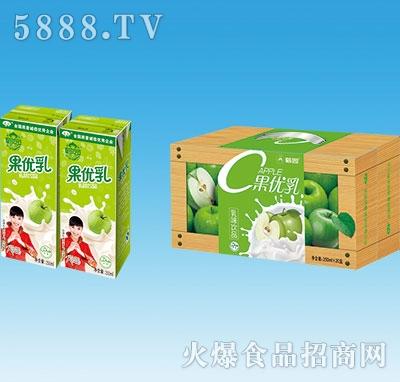 鹤园果优乳果味饮料250mlx20盒