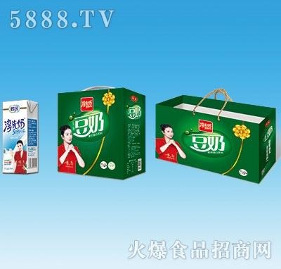 鹤园淳先奶原味豆奶250mlx12盒
