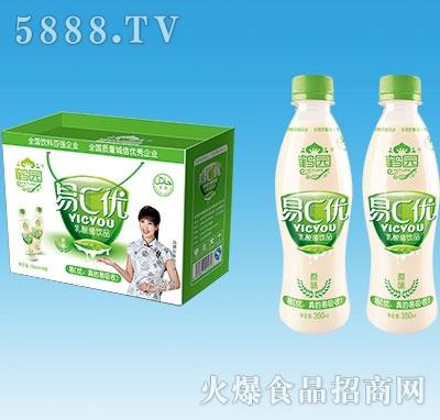 鹤园易C优乳酸菌饮品350mlx8瓶
