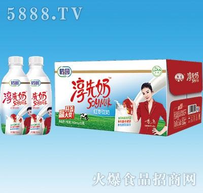 鹤园淳先奶红枣豆奶350mlx15瓶
