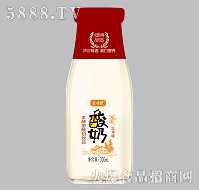 养味优发酵酸奶红枣味300ml