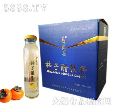 花烂漫柿子醋饮料300mlx6瓶