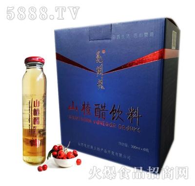 花烂漫山楂醋饮料300mlx6瓶