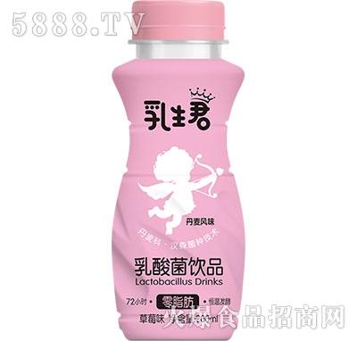 乳生君乳酸菌饮品草莓味200ml