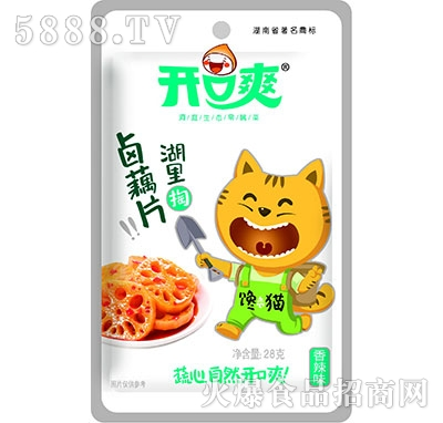 开口爽卤藕片香辣味28g