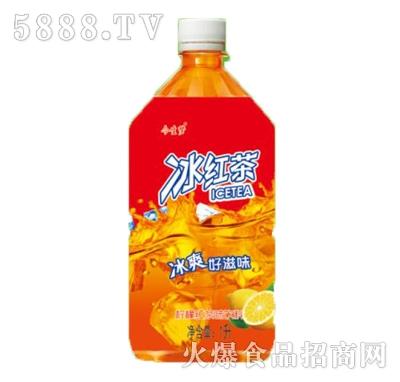 今生梦冰红茶柠檬味饮料1L瓶装