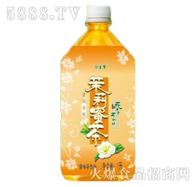 今生梦茉莉蜜茶调味茶饮料1L瓶装