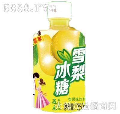冰糖雪梨梨果味饮料瓶装350ml