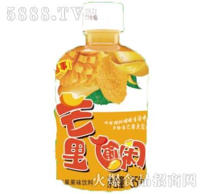芒里偷闲芒果果味饮料瓶装350ml