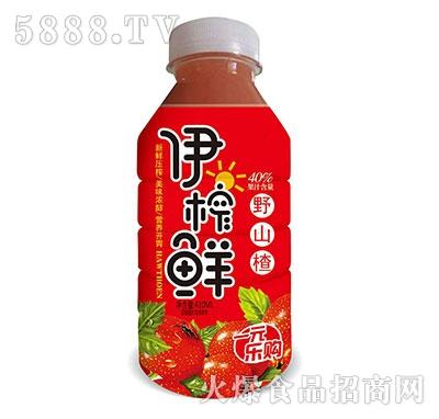 伊榨鲜野山楂汁410ml