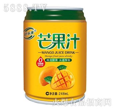 舒乐美芒果汁饮料248ml