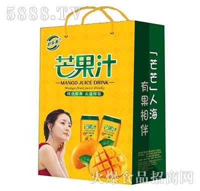 舒乐美芒果汁饮料礼盒